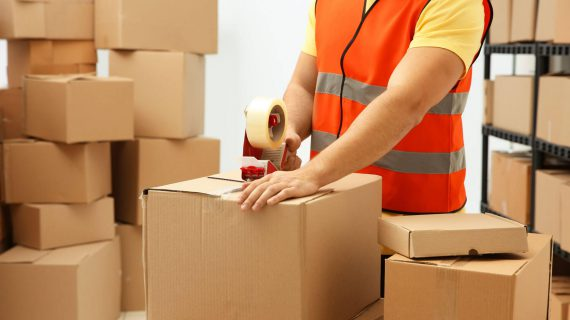 Picture of person packaging